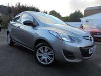 USED 2012 62 MAZDA 2 1.3 TS 5d 74 BHP ***2 LADY OWNERS FROM NEW***