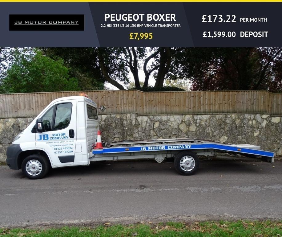 PEUGEOT BOXER at Click Motors