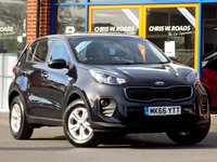 USED 2016 66 KIA SPORTAGE 1.6 GDI 1 5dr (130) * New Model with BTooth + Cruise *