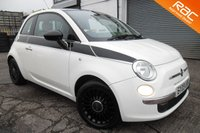 USED 2009 09 FIAT 500 1.2 LOUNGE 3d 69 BHP VIEW AND RESERVE ONLINE OR CALL 01527-853940 FOR MORE INFO.