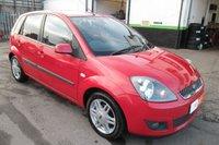 2005 FORD FIESTA 1.6 GHIA 16V 5d AUTO 100 BHP £2900.00