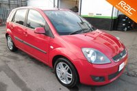 USED 2005 55 FORD FIESTA 1.6 GHIA 16V 5d AUTO 100 BHP A GREAT EXAMPLE OF THIS LOW MILEAGE FIESTA