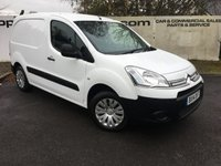 USED 2014 14 CITROEN BERLINGO 625 1.6 LX L1 16V 5 DR 95BHP 3 SEATER