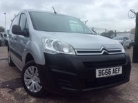 USED 2016 66 CITROEN BERLINGO 1.6 625 ENTERPRISE L1 BLUEHDI 74 BHP 1 OWNER FSH AIR CON MANUFACTURER'S WARRANTY AIR CONDITIONING REAR PARKING SENSORS ELECTRIC WINDOWS AND MIRRORS AIR CONDITIONING SATELLITE NAVIGATION CRUISE CONTROL