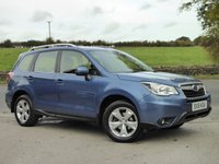 USED 2015 15 SUBARU FORESTER 2.0 I XE PREMIUM 5d AUTO 148 BHP LOW MILEAGE, TOP SPEC, FULL SERVICE HISTORY, DESIRABLE VEHICLE.