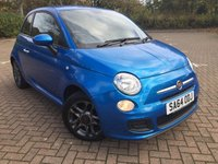 2014 FIAT 500 1.2 S 3d 69 BHP £5990.00