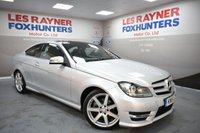 USED 2015 15 MERCEDES-BENZ C CLASS 2.1 C220 CDI AMG SPORT EDITION PREMIUM PLUS 2d AUTO 168 BHP Xenon headlights, Sat Nav, Bluetooth,Cruise control, Panoramic glass roof
