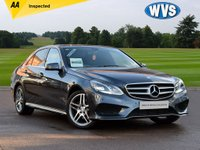 USED 2014 14 MERCEDES-BENZ E CLASS 2.1 E220 CDI AMG SPORT 4d 168 BHP Just 33000 miles on this 2014 Mercedes E220 AMG SPORT 4DR AUTOMATIC in dark grey metallic with a black interior, SAT NAV, HEATED FRONT SEATS, ALLOY WHEELS +++. Complete with a comprehensive service history and an independent AA inspection report.