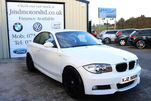 2008 BMW 1 SERIES 120D M SPORT  AUTO 175 BHP (FINANCE & WARRANTY)
