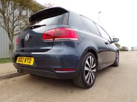 USED 2012 12 VOLKSWAGEN GOLF 2.0 GTD TDI 3d 170 BHP FULL LEATHER BLUETOOTH FULL HISTORY PART EXCHANGE AVAILABLE / ALL CARDS / FINANCE AVAILABLE