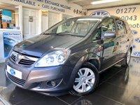 2011 VAUXHALL ZAFIRA 1.7 ELITE CDTI ECOFLEX 5d 108 BHP £4395.00