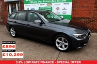 USED 2014 64 BMW 3 SERIES 2.0 320D SE TOURING 5d 181 BHP +SAT NAV +ONE OWNER +FSH.