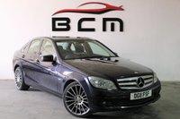 2011 MERCEDES-BENZ C CLASS 2.1 C200 CDI BLUEEFFICIENCY EXECUTIVE SE 4d AUTO 136 BHP £SOLD