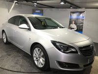 USED 2014 14 VAUXHALL INSIGNIA 1.8 SRI 5d 138 BHP Bluetooth    :    DAB Radio  :     Cloth upholstery       :       Climate Control/Air-Conditioning       :       Isofix fittings       :        Front + rear parking sensors