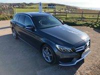 2015 MERCEDES-BENZ C CLASS 2.1 C220 BLUETEC AMG LINE 5d AUTO 170 BHP NAV £18995.00