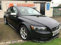 2009 VOLVO C30 1.6 SPORT 77000 miles fsh in black very clean car  £3995.00