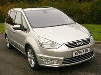 2014 FORD GALAXY 2.0 TITANIUM X TDCI 5d AUTO POWERSHIFT 163 BHP 7 SEAT £11950.00