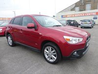 USED 2010 60 MITSUBISHI ASX 1.8 DI-D 3 5d 147 BHP CRUISE * CLIMATE CONTROL * GOT BAD CREDIT * WE CAN HELP