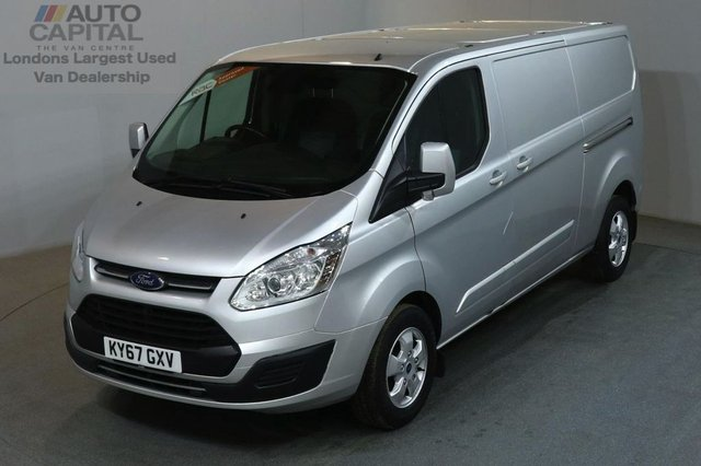 2017 67 FORD TRANSIT CUSTOM 2.0 290 LIMITED 170 BHP LWB L2 H1 EURO 6 AIR CON SAT NAV REVERSE CAMERA