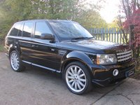 USED 2007 07 LAND ROVER RANGE ROVER SPORT 3.6 TDV8 SPORT HSE OVERFINCH 5d AUTO 269 BHP Low Mileage Overfinch