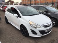 USED 2011 11 VAUXHALL CORSA 1.2 LIMITED EDITION 5d 83 BHP White limited edition, 55000 miles, alloys, air/con, great value.