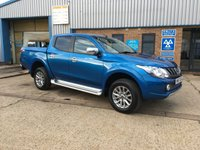 USED 2017 67 MITSUBISHI L200 2.4 DI-D 4WD BARBARIAN DCB 5d 178 BHP SAVE A FORTUNE ON A NEW PICK UP LESS THAN 8k MILES !!!