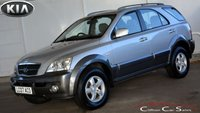 USED 2007 07 KIA SORENTO 2.5 XE CRDi 5 DOOR AUTO 139 BHP Finance? No deposit required and decision in minutes.