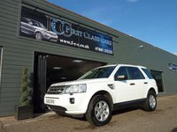 USED 2012 62 LAND ROVER FREELANDER 2.2 TD4 GS 5d 150 BHP