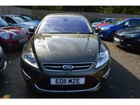 2011 FORD MONDEO 2.0 TITANIUM X 5d AUTO 201 BHP IN METALLIC GREEN WITH 42,000 MILES £8299.00