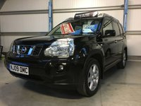 USED 2009 09 NISSAN X-TRAIL 2.0 AVENTURA DCI 5 DOOR 4WD AUTOMATIC, ONLY 1 OWNER FROM NEW