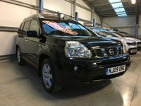 2009 NISSAN X-TRAIL 2.0 AVENTURA DCI 5 DOOR 4WD AUTOMATIC, ONLY 1 OWNER FROM NEW £7995.00