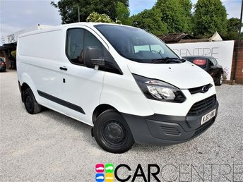 View our 2013 63 FORD TRANSIT CUSTOM 2.2 270 LR P/V 5d 99 BHP