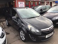 USED 2012 61 VAUXHALL CORSA 1.2 SXI 5d 83 BHP Black sxi, 53000 miles, superb great value,