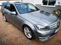 2012 MERCEDES-BENZ C CLASS 3.0 C350 CDI BLUEEFFICIENCY AMG SPORT 5d AUTO 262 BHP £13995.00