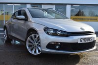 USED 2010 10 VOLKSWAGEN SCIROCCO 2.0 GT 5d 211 BHP COMES WITH 6 MONTHS WARRANTY