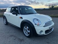 2010 MINI HATCH ONE 1.6 ONE 5d 98 BHP £4995.00