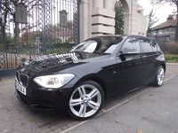 USED 2013 63 BMW 1 SERIES 2.0 120D XDRIVE M SPORT 5d 181 BHP FINANCE ARRANGED***PART EXCHANGE WELCOME***X DRIVE***CRUISE***6 SPEED***BLUETOOTH***DAB***USB***AUX***