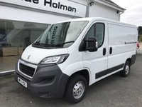 USED 2015 15 PEUGEOT BOXER  330 PROFESSIONAL 2.2 HDi 110 6-SPEED H1 L1 SWB