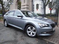 USED 2016 65 SKODA SUPERB 2.0 SE TDI DSG 5d AUTO 150 BHP FINANCE ARRANGED***PART EXCHANGE WELCOME***1 OWNER***BLUETOOTH***DAB***USB***AUX***CD***