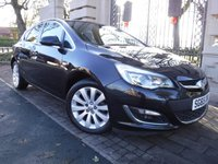 USED 2015 65 VAUXHALL ASTRA 1.6 ELITE 5d 113 BHP *** FINANCE & PART EXCHANGE WELCOME *** 1 OWNER FROM NEW FULL BLACK LEATHER HEATED SEATS FRONT & REAR PARKING SENSORS AIR/CON CRUISE CONTROL