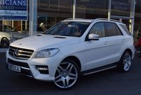 USED 2013 63 MERCEDES-BENZ M CLASS 2.1 ML250 BLUETEC AMG SPORT 5d AUTO 204 BHP FINANCE TODAY WITH NO DEPOSIT