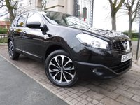 USED 2013 63 NISSAN QASHQAI+2 1.5 DCI 360 PLUS 2 5d 110 BHP *** FINANCE & PART EXCHANGE WELCOME *** 1 OWNER 7 SEATS PANORAMIC ROOF SAT/NAV 360 VIEW CAMERAS BLUETOOTH PHONE