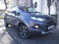 USED 2016 65 FORD ECOSPORT 1.5 TITANIUM TDCI 5d 94 BHP *** FINANCE & PART EXCHANGE WELCOME *** 1 OWNER FROM NEW £ 30 ROAD TAX BLUETOOTH PHONE AIR/CON CRUISE CONTROL, PARKING SENSORS