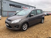 USED 2013 62 FORD GRAND C-MAX 1.6 ZETEC TDCI 5d 114 BHP