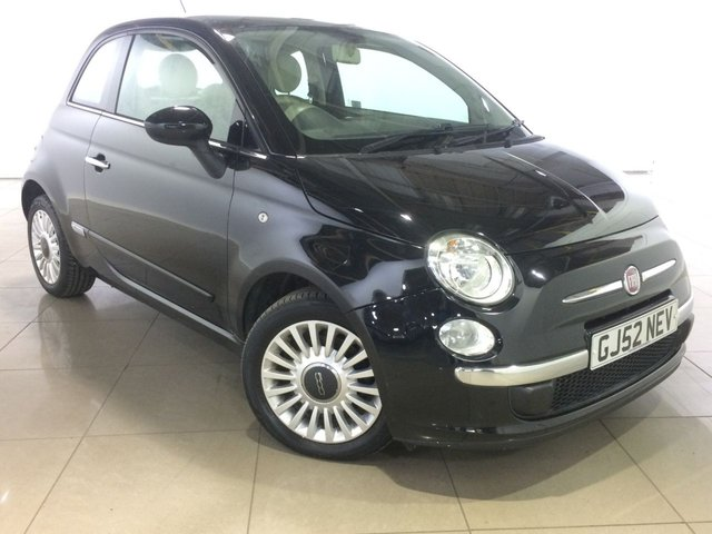 View our 2012 61 FIAT 500 0.9 LOUNGE 3d 85 BHP