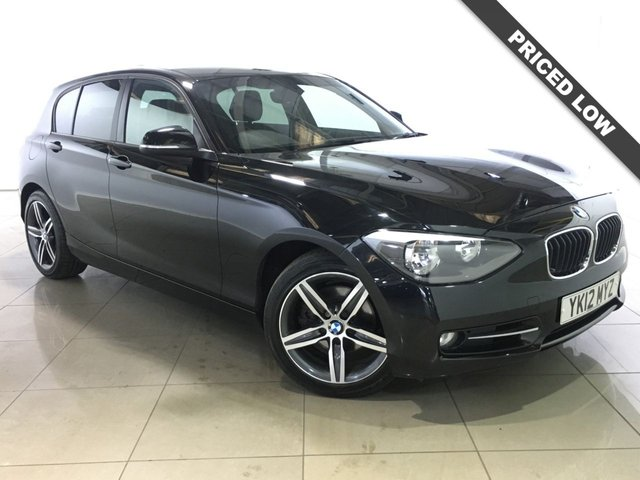 View our 2012 12 BMW 1 SERIES 1.6 118I SPORT 5d 168 BHP