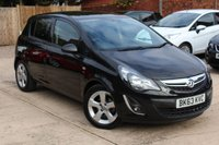 USED 2013 63 VAUXHALL CORSA 1.4 SXI AC 5d 98 BHP **** OUTSTANDING CONDITION ****