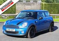 2011 MINI HATCH ONE 1.6 ONE PIMLICO 3d 97 BHP £5995.00