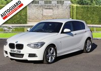 USED 2014 64 BMW 1 SERIES 2.0 120D M SPORT 5d 181 BHP Finance options available