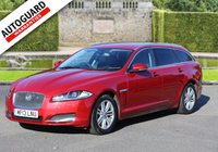 USED 2013 13 JAGUAR XF 2.2 D LUXURY SPORTBRAKE 5d AUTO 200 BHP Finance options available